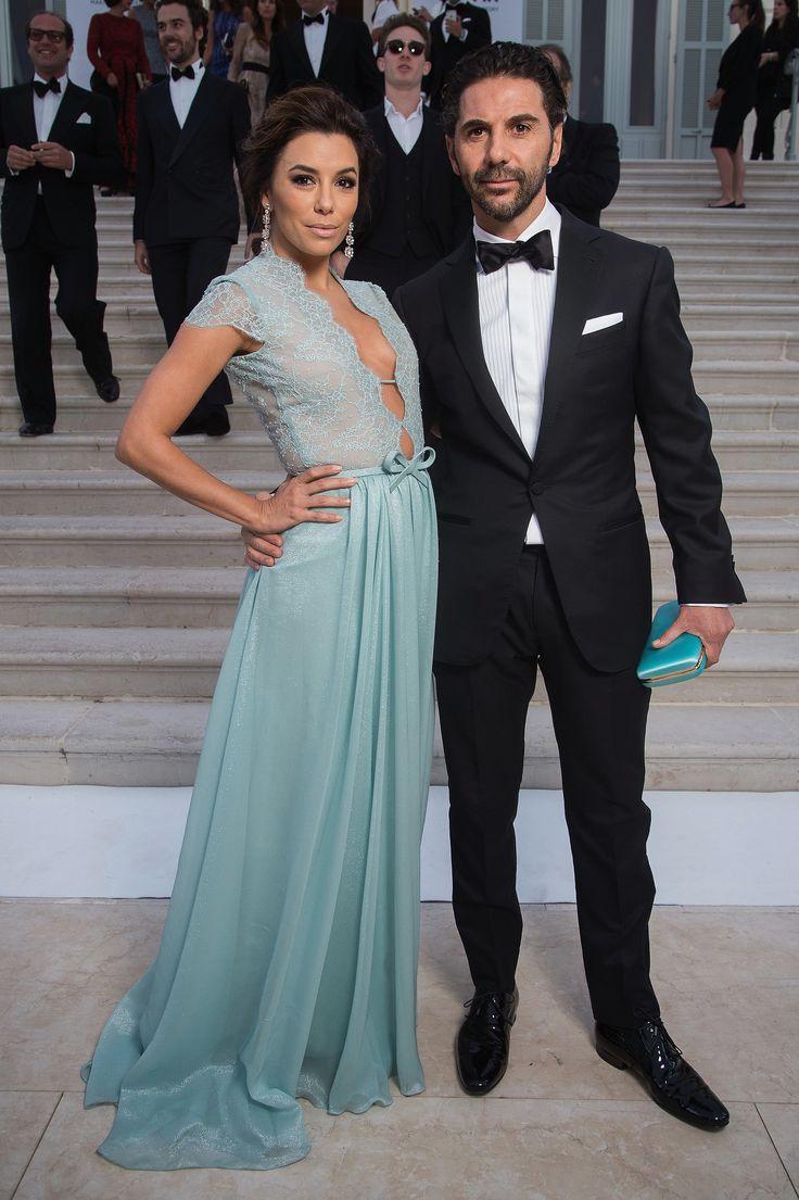 AMFAR GALA -Eva Longoria and Jose Antonio Baston