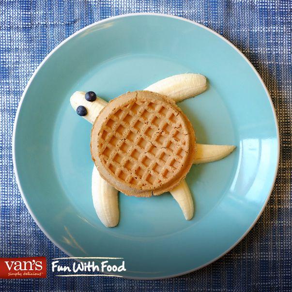 Turn breakfast into an undersea adventure with this fun sea turtle idea!