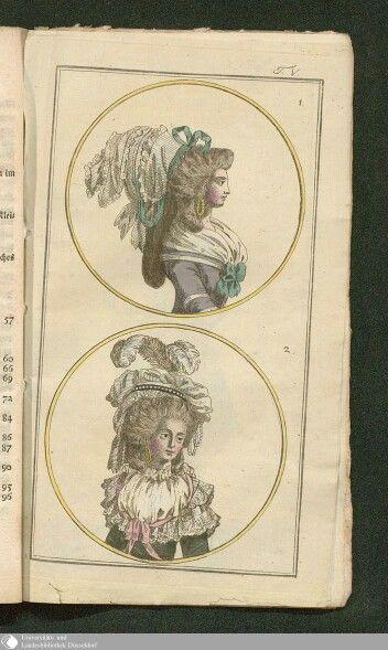 February 1786, Journal des Luxus under der Moden.