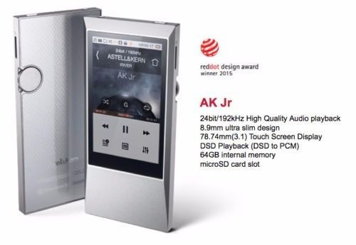 IRIVER Astell & Kern AK Jr Hi-Resolution Music MP3 Player 64GB Wi-Fi #iRiver