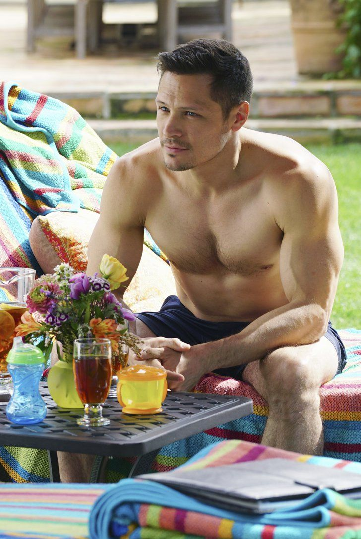 Pin for Later: Prepare For 2016 With TV's Sexiest Pictures From the Past Year Revenge Now here's something we'll really miss about Revenge: Jack (Nick Wechsler) sans shirt.