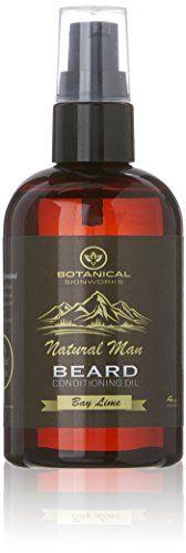 Natural Man Beard Oil Premium All Natural Beard Conditioner by Botanical Skinworks