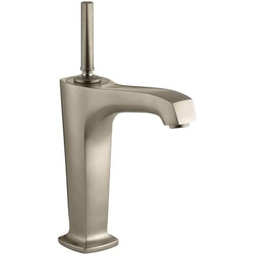 Kohler K-16231-4 Margaux Single Hole Bathroom Faucet - Free Touch Activated Drain Assembly with purchase (