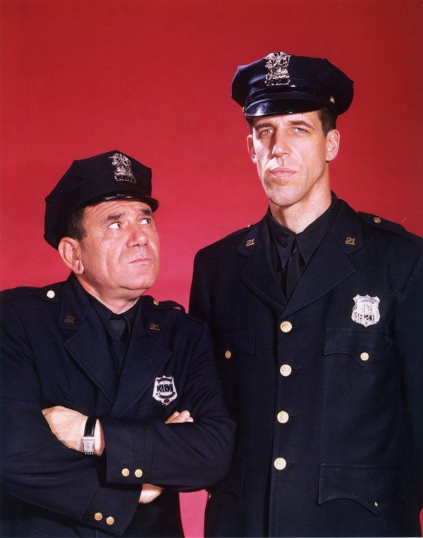 Car 54 Where Are You? (the tall guy later became Herman Munster)