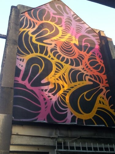 #London #streetart - INSA - shoreditch/hoxton 2012