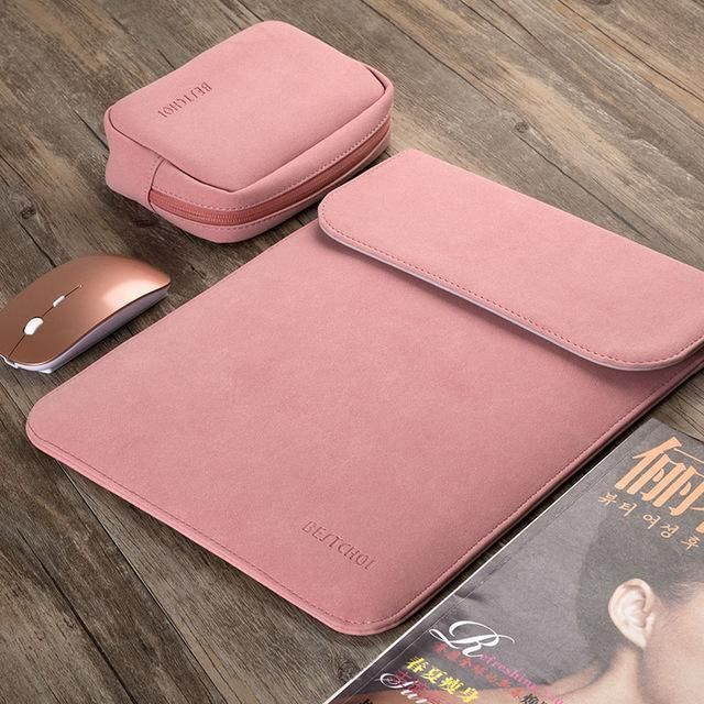 13 3 Laptop Bag For Macbook Air 13 Case Laptop Sleeve 15 4 For Pro Retina 11 12 15 Notebook Leather Laptop Case Laptop Bag Macbook Air 13 Case