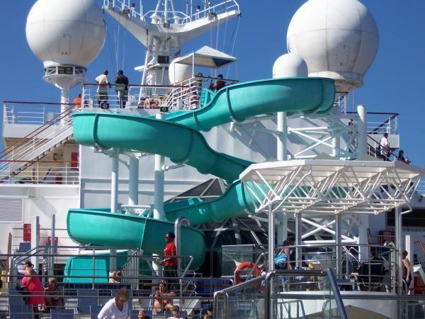 Carnival Triumph Water Slide On Board Where I Ve Been Pinterest Water Slides