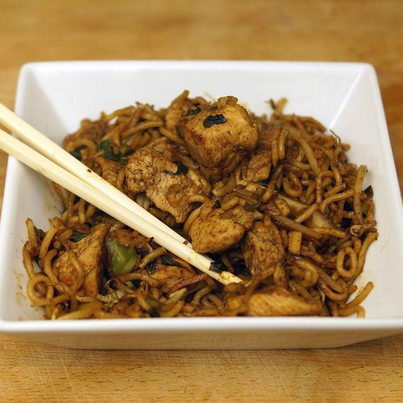 Healthy Chinese Chicken Chow Mein