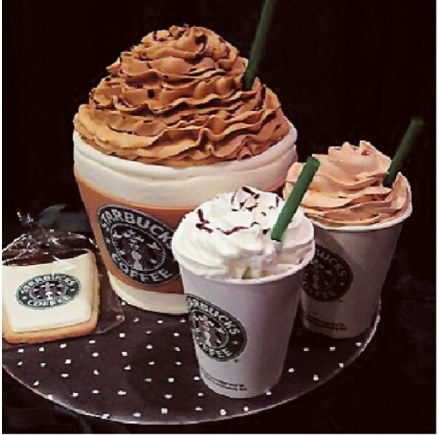 13 best StarBuck cakes images on Pinterest Coffee drinks
