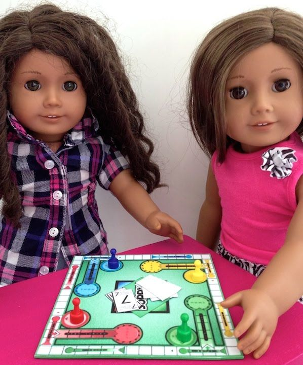 How to make Board Games for your American Girl Doll