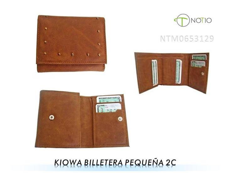 Notio marroquineria  en cuero-  Kiowa billetera