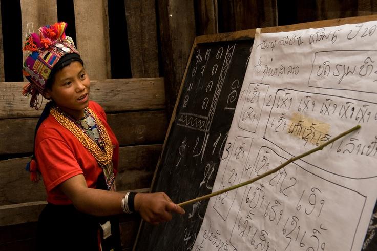Teacher in Phongsali