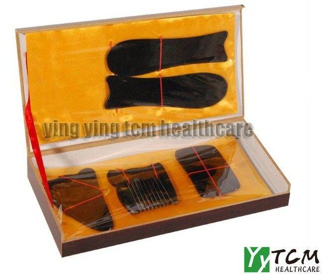 Оптовая и розничная Традиционный Иглоукалывание Массаж Набор Инструментов Гуа Ша Guasha