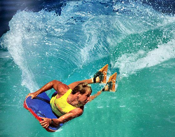 Mike Stewart completes 50 years in the bodyboarding history