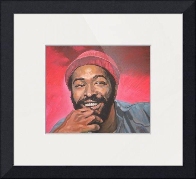 Marvin Gaye Afrocentric Art African American Art African Art