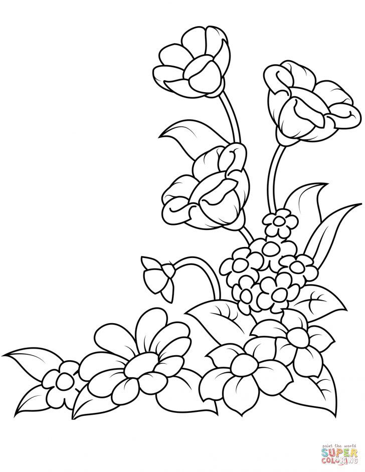 25 Creative Photo Of Spring Flowers Coloring Pages Albanysinsanity Com Spring Coloring Pages Flower Coloring Pages Spring Coloring Sheets