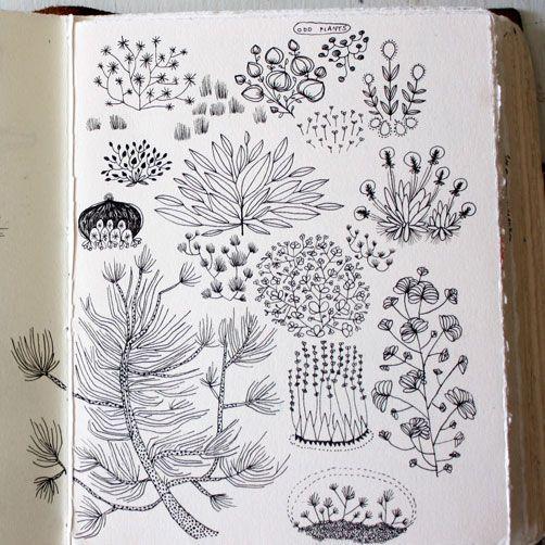 Becca Stadtlander sketchbook