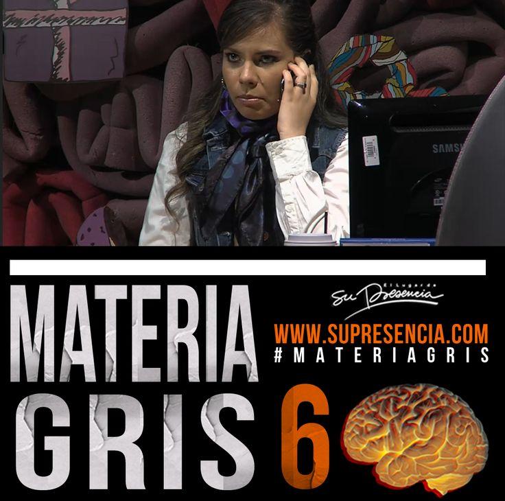 #MateriaGris tiene una sorpresa. ¿Les suena Dante Gebel? Imperdible este capítulo 6. En minutos por http://www.supresencia.com