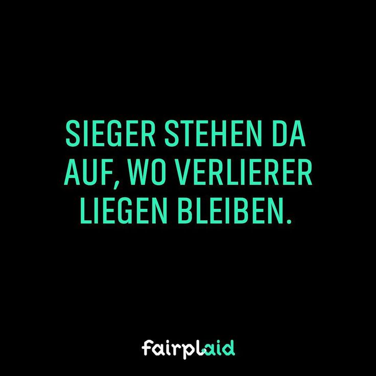 Markiere einen Sieger! #winner #sieger #nevergiveup #instamotivation #motivation #quote