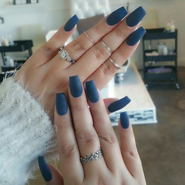 The brilliance of matte polishes is that they manage to turn even the cutesiest …