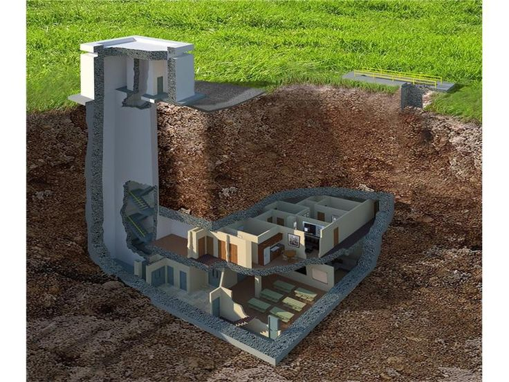 The Best Underground Shelters For Sale Ideas On Pinterest - Take look inside incredible cold war era bunker buried 26 feet underground