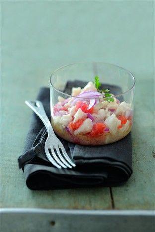 Ceviche de daurade - Larousse Cuisine