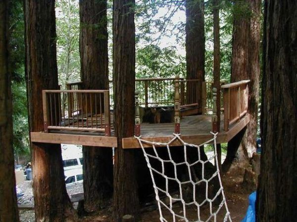 30 DIY Tree House Plans U0026 Design Ideas For Adult And Kids (100% Free