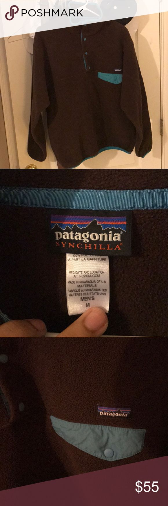 Patagonia Synchilla Snap-T Pullover Like new Patagonia synchilla pullover! Selling for $50! In perfect condition! Perfect for the winter and very durable! Patagonia Sweaters