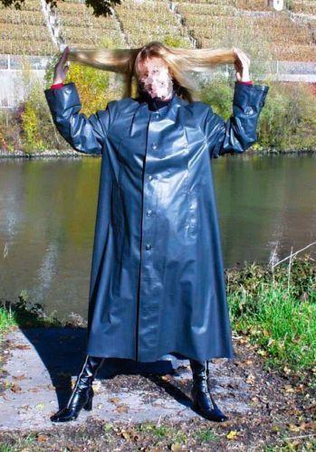Orig-He-Kleppermantel-Gummimantel-Raincoat-Regenmantel-Rubbercoat-1A-Zustand Mehr