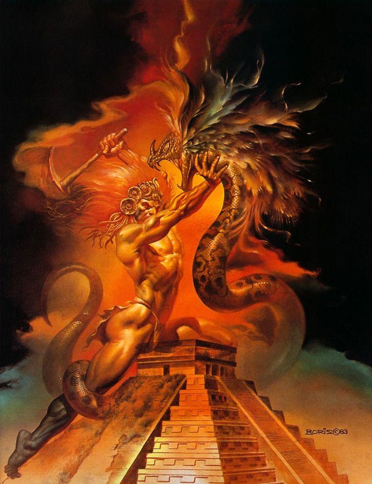 Boris vallejo fantasy art history of art ahavah for Art of minimal boris