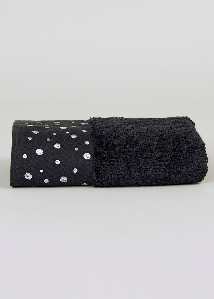 sparkle hand towel 50cm x 90cm matalan towels. Black Bedroom Furniture Sets. Home Design Ideas