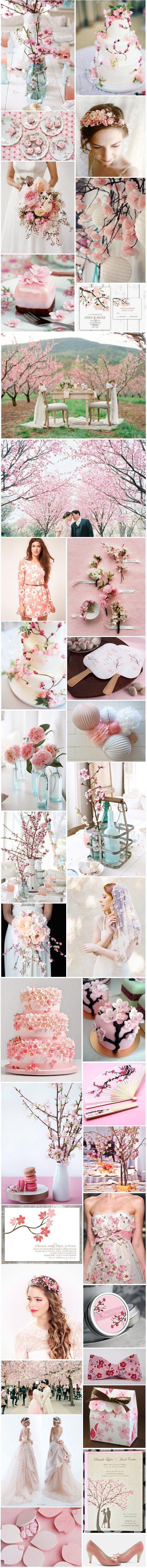 [Inspiration] Fleurs de cerisier