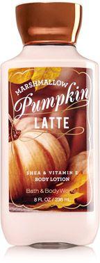 Marshmallow Pumpkin Latte Body Lotion - Signature Collection - Bath & Body Works