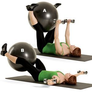 Chest, Core, Inner Thighs