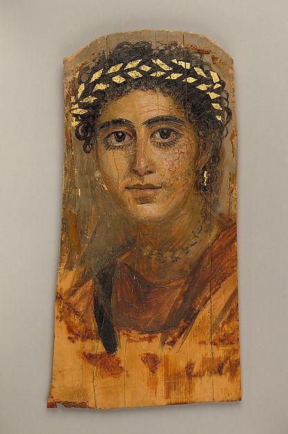 (c. 90-120 CE) Portrait of a Young Woman