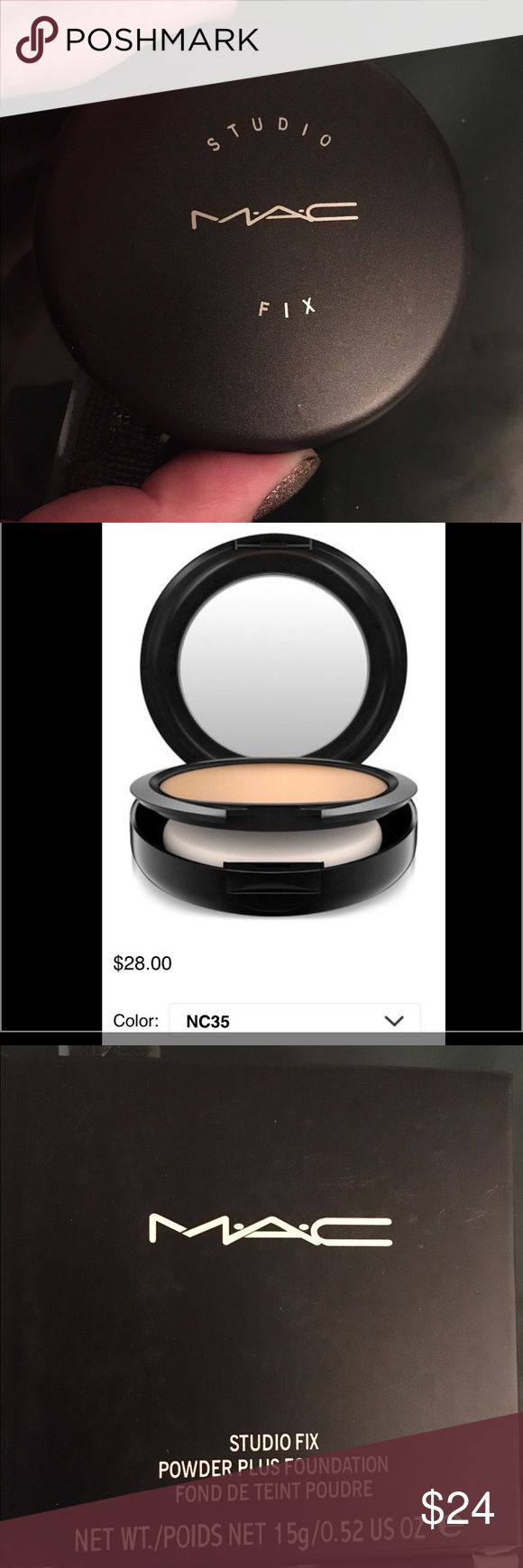 New! MAC Studio Fix Powder Plus Foundation NC35 NWT 💕Authentic MAC Studio Fix Powder Plus Foundation NC35 never used only opened for pictures. Still in original box. Got a great deal I use this myself trying to get rid of them at a great price!! 👍💕💋❤️ MAC Cosmetics Makeup Face Powder
