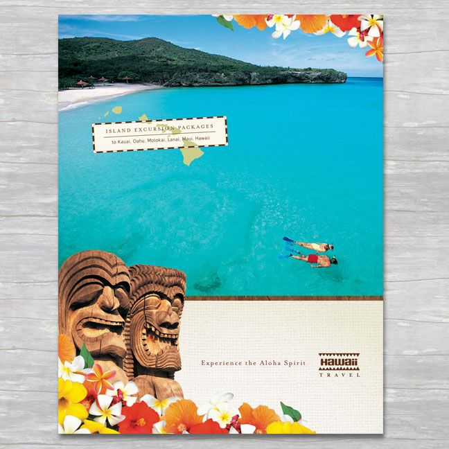 17 best images about summer marketing on pinterest logos for Hawaii brochure template