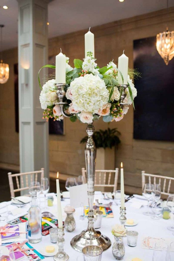 17 best images about candelabra on pinterest wedding for Table centrepiece