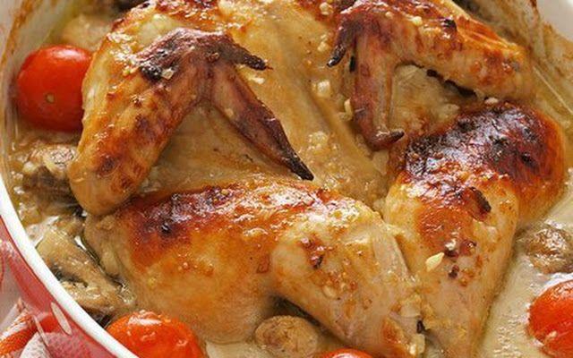 курица маринованные в пиве с горчицей