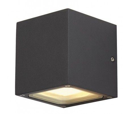 SITRA CUBE Væglampe Udendørs - Antracit