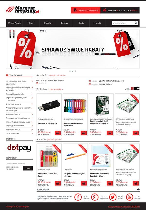 Strony internetowe - biuroweartykuly.pl