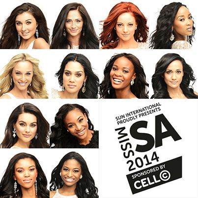 Congratulations to all these lovely ladies who made it as finalist in this years Miss SA pageant. #MissSA #CellCPower