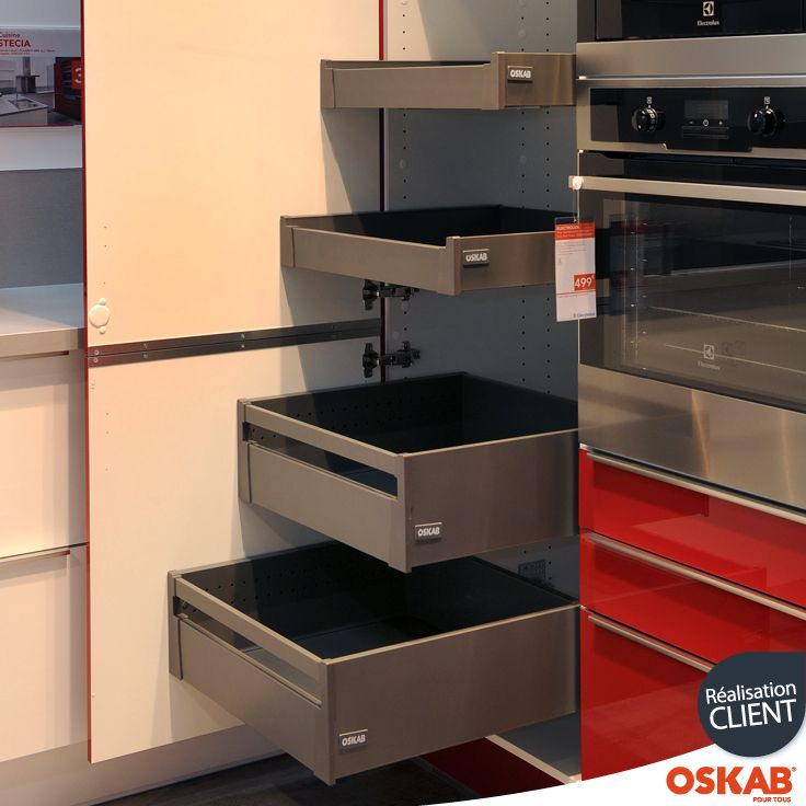 Les 23 meilleures images propos de accessoire cuisine for Tiroir de cuisine coulissant ikea