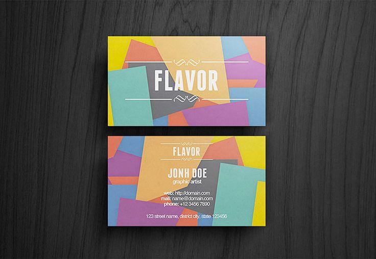 명함디자인 / flavor-card