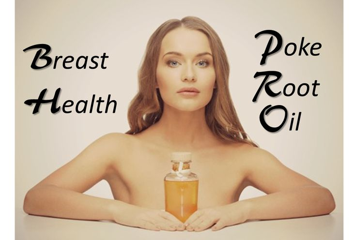 Poke Root Oil for Breast Health | Health Issues Tips | Pinterest ...