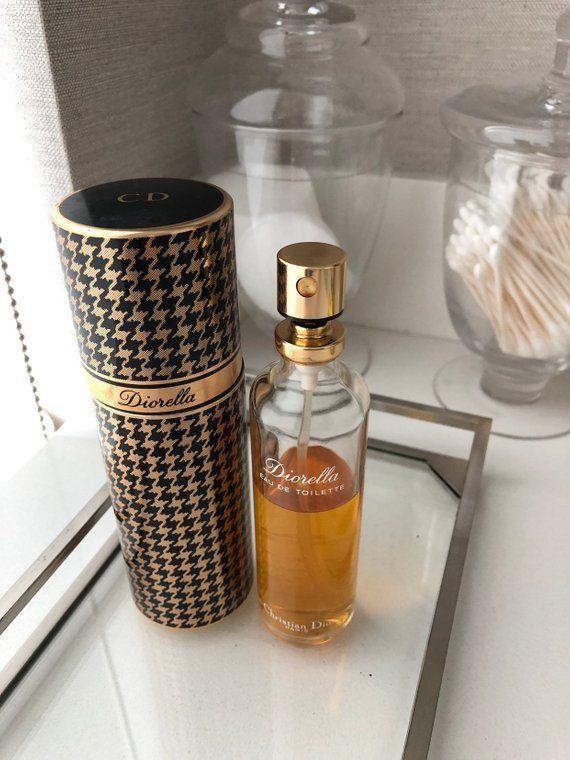 e8b4c68c4900d Vintage Diorella Perfume 1980s Christian Dior Diorella eau de ...