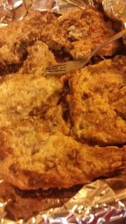 oven fried pork chops with flour, mayo and flour oven fried pork chops, pork…