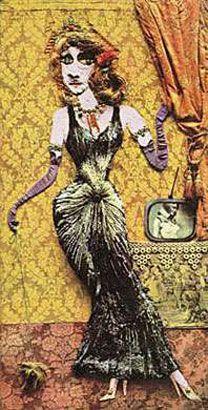 Ramona, 1971, collage. Col. privada