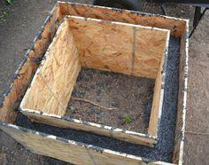 Diy concrete planter More