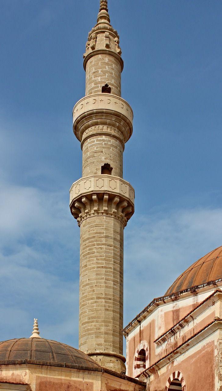 Travel Minaret Tower Prayer Caller Mosque Travel